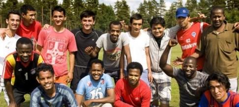Svenska ensamkommande barn