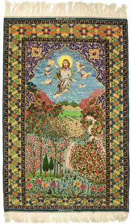 Tvätta persisk matta