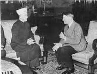Amin al-Huseini och Adolf Hitler
