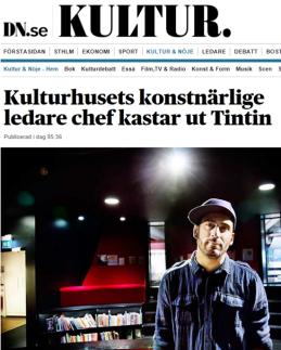 DN Kultur Tintin