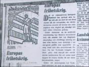 Ovan en ledare som publicerades av Aftonbladet samma dag som Hitler inledde kriget mot Sovjet – den 22 juni 1941.