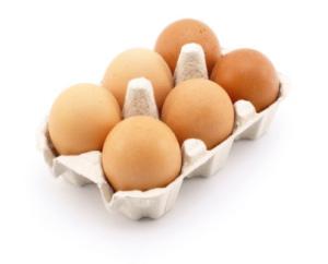ägg hela hela