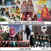 Iran före efter