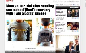 Jihad tröja