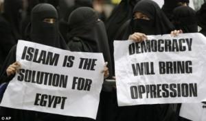muslimtanter demo