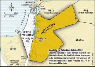 Tvåstatslösningen finns redan. Jordanien är en palestinsk stat.