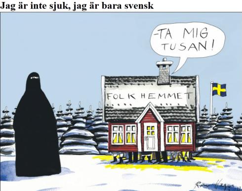 VG bara svensk