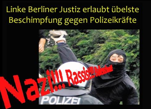 Berlin Vänsterterrorister  och Islamister