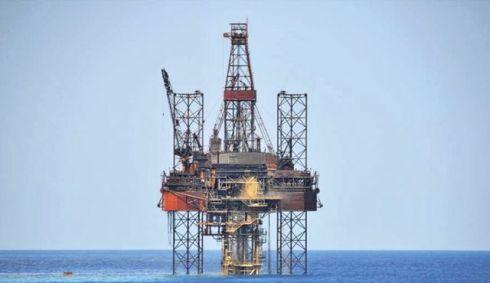 Naturgas borr rigg