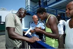 Sudaneser och eritreaner  brottsbenägna