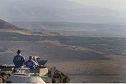 Utsikt över Golan