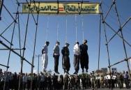 Iran hängning