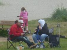 Vattenpipa på Ribban i Malmö bland barn
