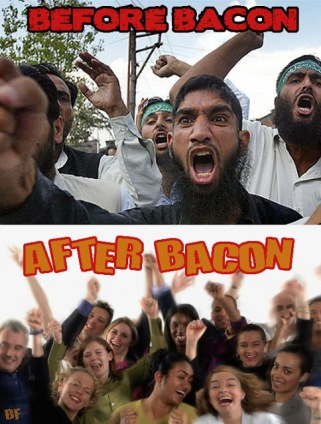 Before Bacon After Bacon