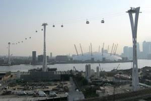 Linbana över Themsen i London