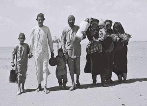 Judar på flykt