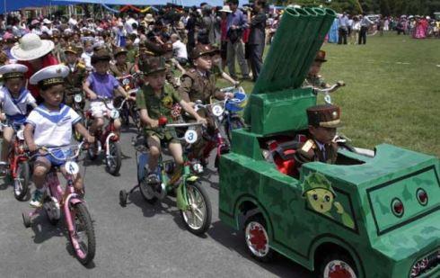 Nordkorea barn