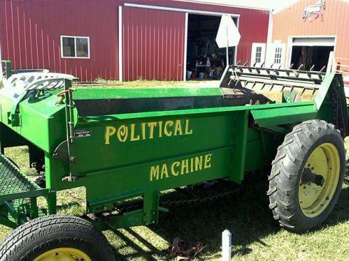 Political maskin