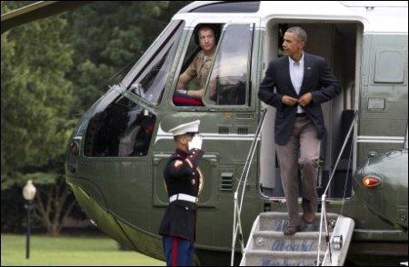 Hussein Barack Obama Presidenten i USA