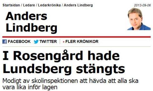 I Rosengårds hade Lundsberg stängts