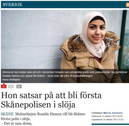 Polis_i_slöja