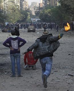 Cairo riot