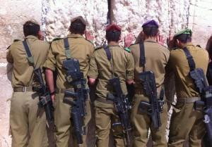 Så här ser Israels soldater ut när de tjänstgör