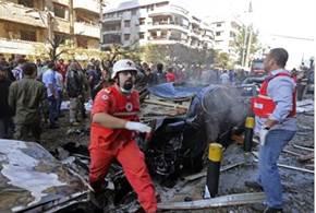 Beirut bilbomb mot Irans ambassad
