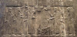 Assyrierna erövrar Israel