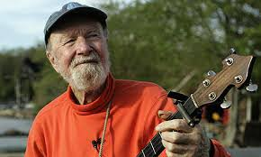 Pete Seeger ded age 94 R.i.p. And thanks for all of  your nice work