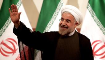 Iran's President Hassan Rouhani som i väst beskrivs som mild fortsätter att avrätta människor.