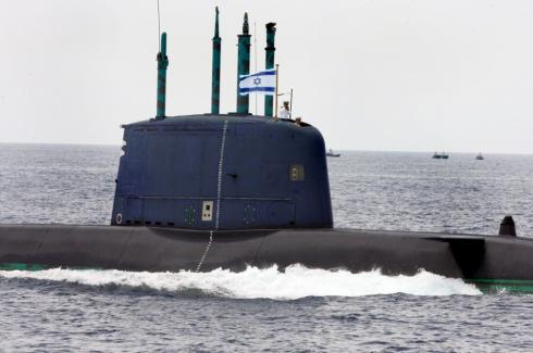 Israelisk_u-båt