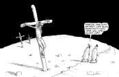 Kristna mördar inte för streckgubbar