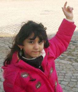 Yara född 25/9 2005. Mördad 30/4 2014.