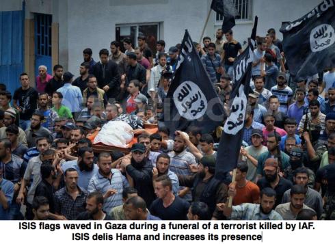 Isis opererar helt öppet i Gaza och trots det fortsätter det svenska biståndet med 700 miljoner per år till den palestinska myndigheten.
