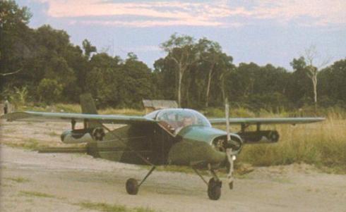 Von Rosens och hans gerillaflygvapen.