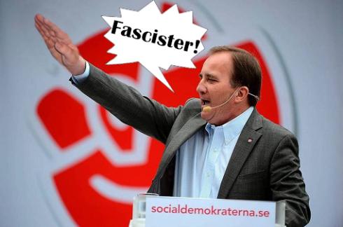 löfven fascister