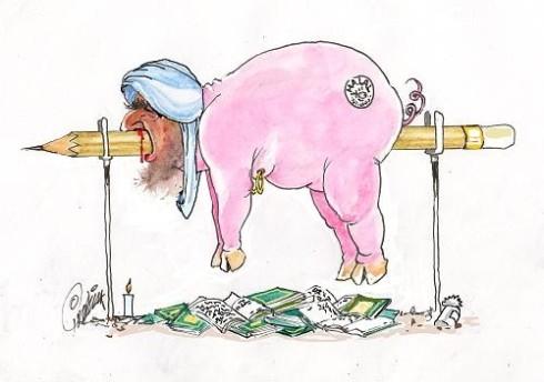Muhammed som gris