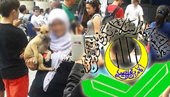 muslim-girl-with-dog