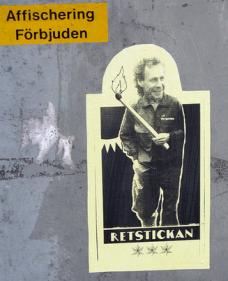 Gryningspyromanen Ulf Borgström av Dan Park