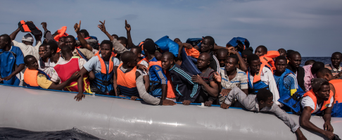 109 unga män på Medelhavet. Snart I Sverige som ensamkommande barn? Är det rätt av oss att dränera Afrika på kompetens?