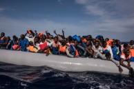 109 unga män på Medelhavet. Snart I Sverige som ensamkommande barn?