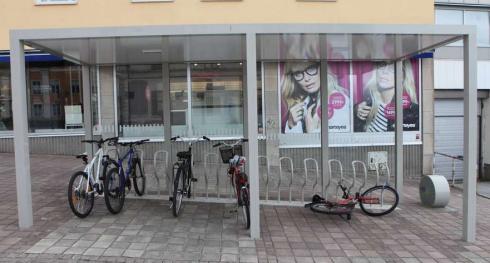 Cykelställ för 431 000 kronor.