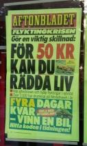 Aftonbladet rädda liv
