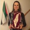 Riksdagsledamoten Hillevi Larsson (s) tog år 2014 emot ett pris för sitt Palestinaengagemang. Priset delades ut av Palestinska kulturföreningen i Malmö den 30 november 2014 och föreställer en Palestinakarta där staten Israel är utplånad.