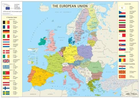 EU karta