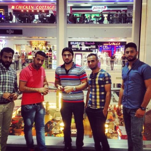 Julhandel i Bagdad, det fanns inte mycket att köpa för 64 veckor sedan
