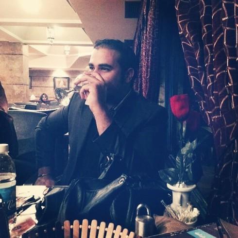Omar tar ett glas för 72 veckor sedan