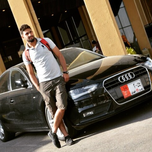 En arabisk registrerad skitbil fick duga för  35 veckor sedan