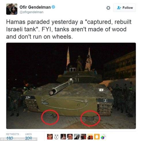 Hamas tank
